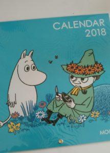 ムーミン,カレンダー,